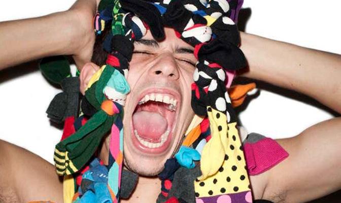 Terry Richardson x Happy Socks
