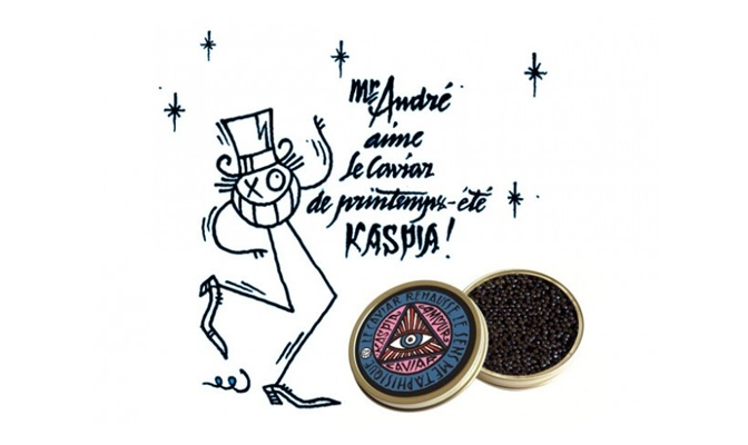 Caviar Kaspia by Andre