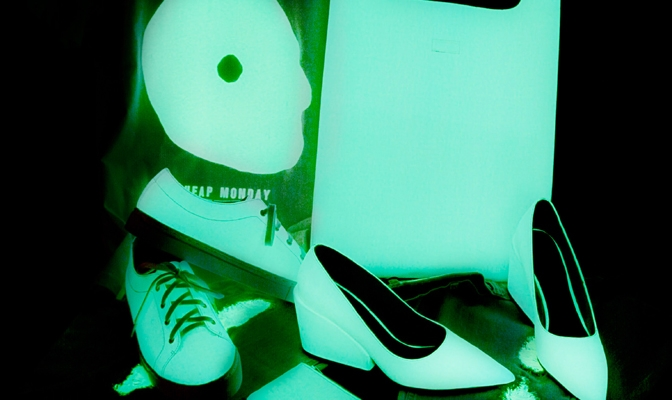 Cheap Monday Glow in the dark Collection