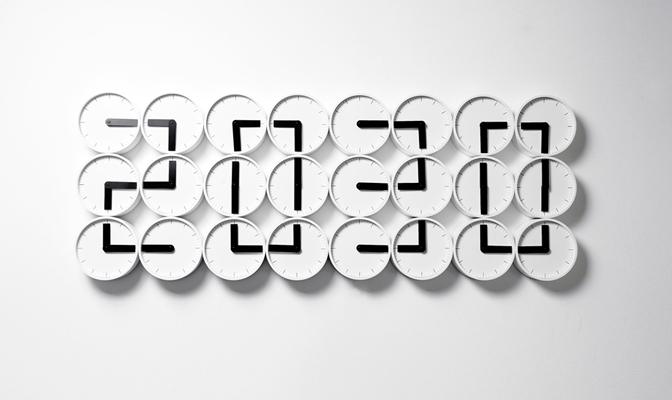 The Clock Clock White