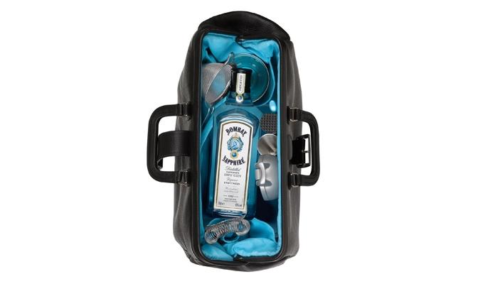 Bombay Sapphire Barking Irons Bar Bag