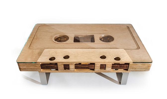 Mixtape Cassette Table