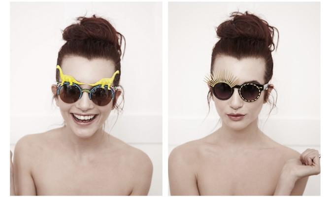 Spangled glasses