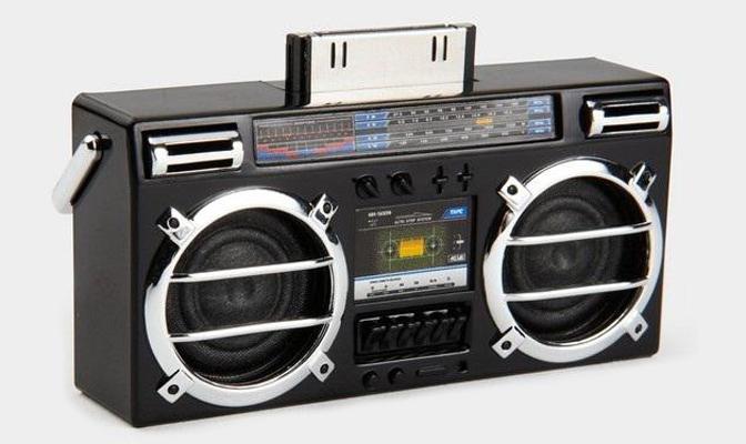 Mini Boombox Speaker