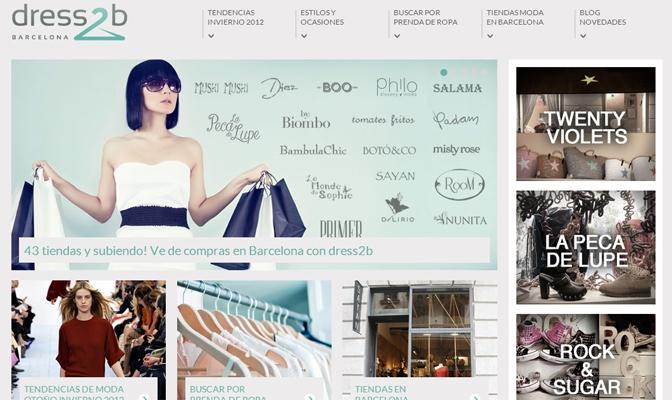 dress2b: nueva forma de ir de shopping