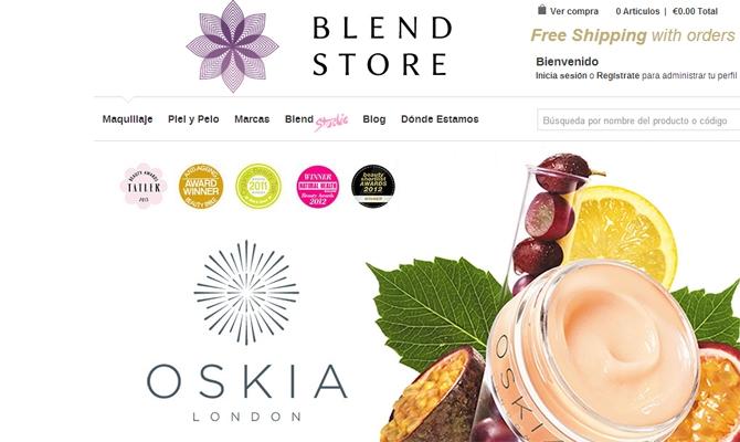 Blendstore.es, online store de cosmética top