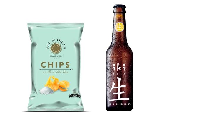 Chips de Sal de Ibiza & Cerveza japo-belga