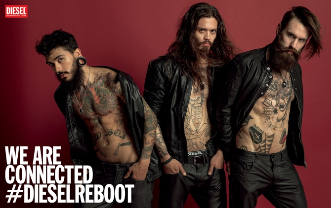 We are connected: Diesel SS14