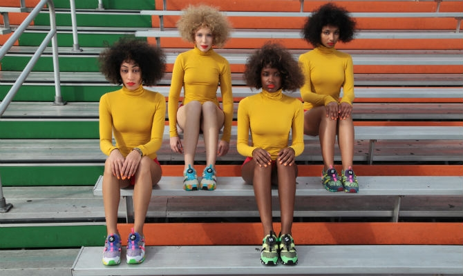 Girls of disc blaze collection by Solange