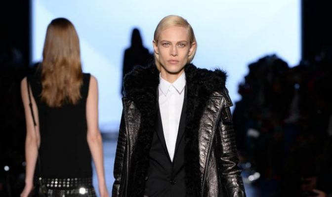 Diesel Black Gold FW14 en la New York Fashion Week