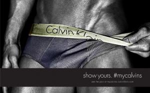 |||Show yours. #MyCalvins|||