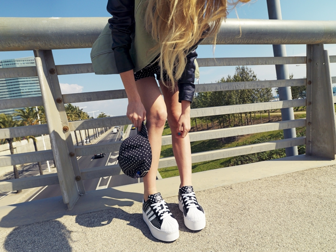 Este verano quiero unas adidas con plataforma, por favor!