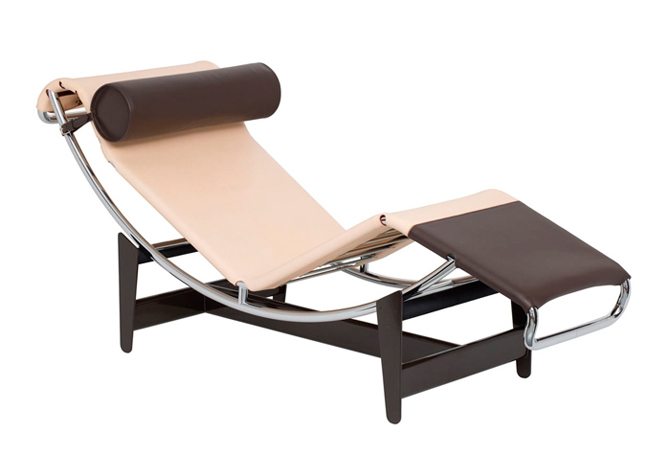 Chaise-longue homenaje a Charlotte Perriand by Louis Vuitton & Casina
