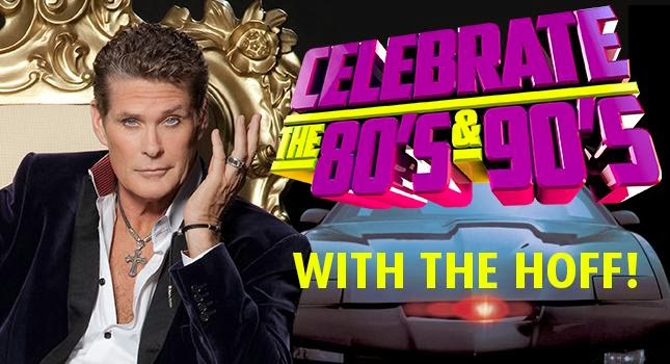 Back to the past: El chupinazo de David Hasselhoff