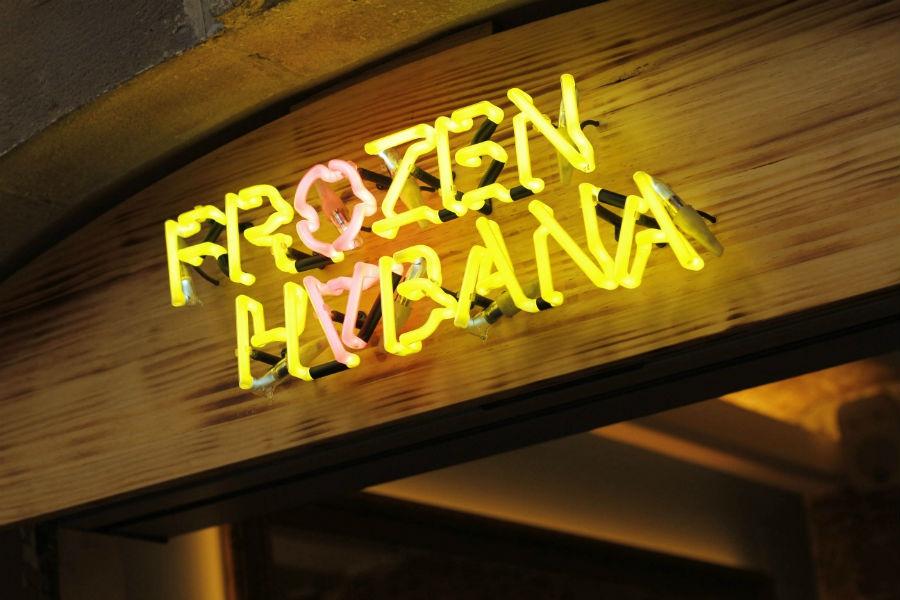 Un frozen mojito, ¿por favor?