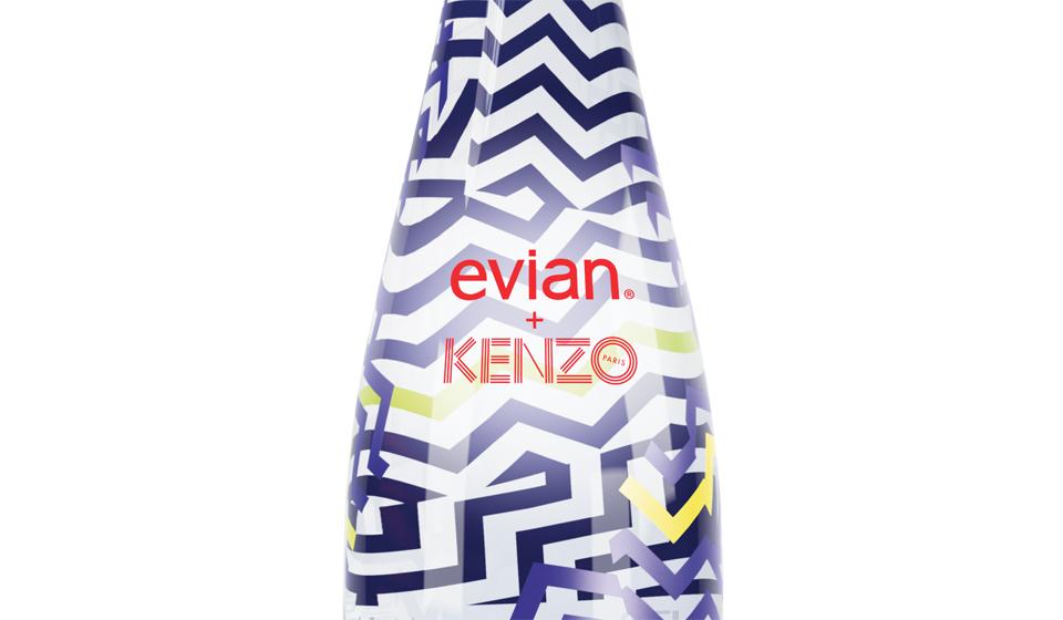 kenzo + Evian