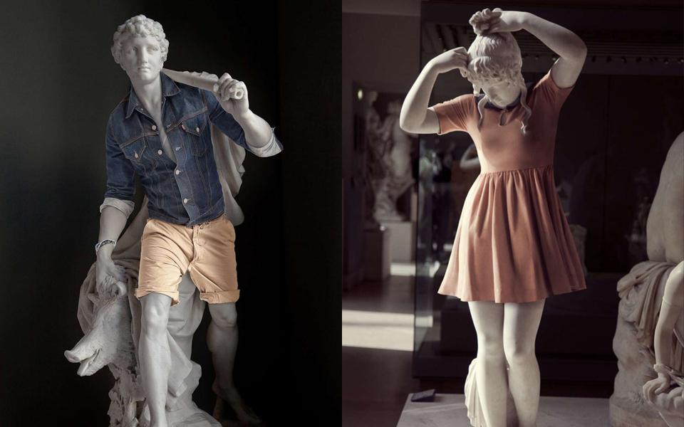 Léo Caillard nos presenta los 'Hipsters in Stone'