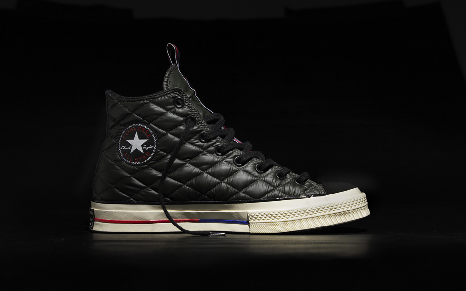 Converse All Star Chuck '70 Down Jacket Black Right