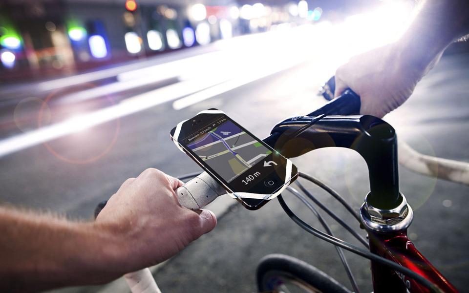 Finn, un soporte de teléfono para tu bici