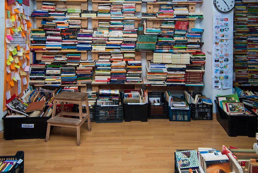 TUUU librería: una ONG de libros en Chamberí