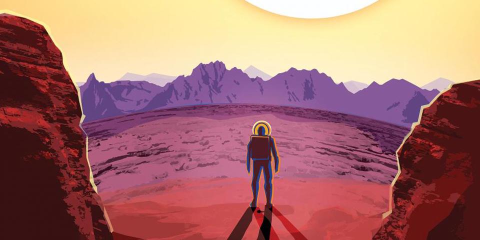 Los posters de la NASA nos descubren exoplanetas