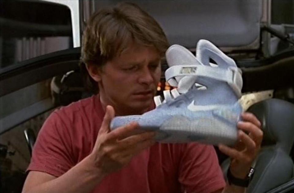 Las Nike Air MAG de Regreso al Futuro se hacen realidad
