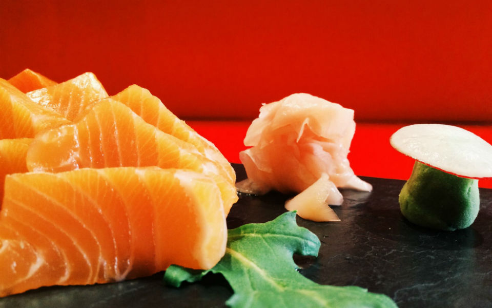 Sushi & gyozas ibéricas, un tándem muy KUO