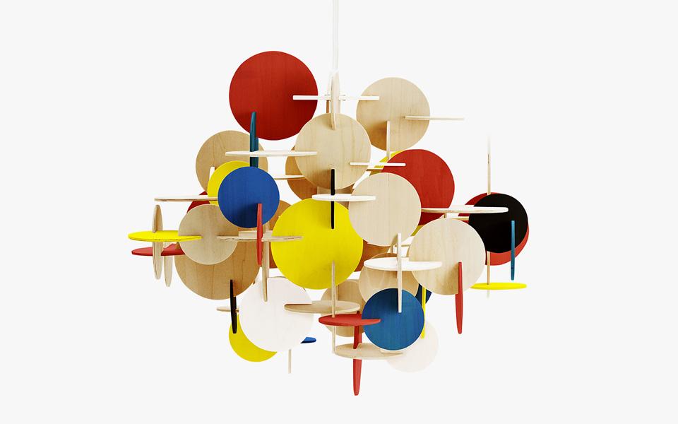 Vibeke Fonnesberg Schmidt presenta la lámpara BAU
