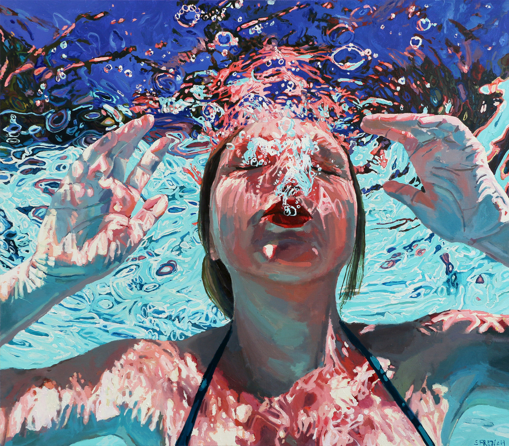 El hiperrealismo acuático de Samantha French