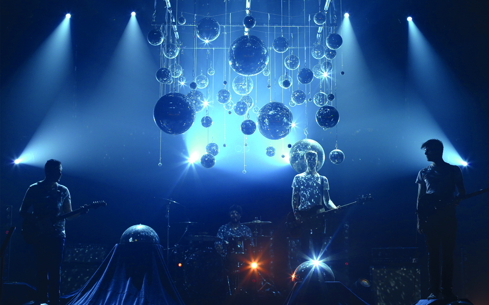 motb mirror ball band pic