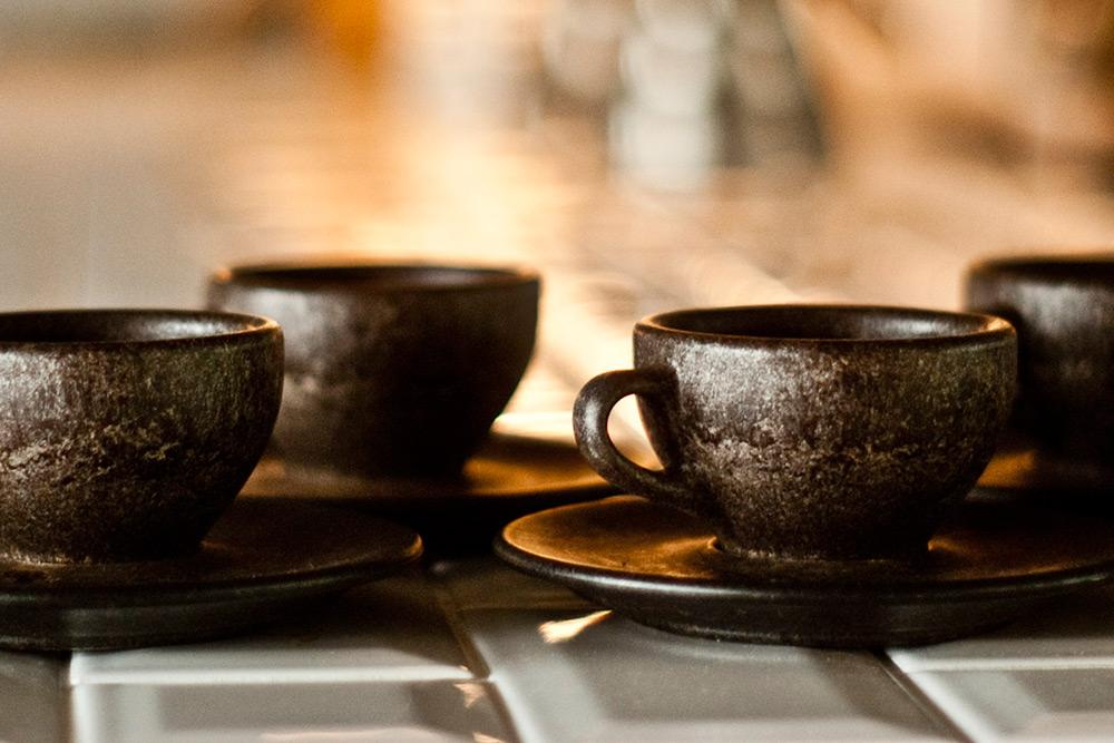 Kaffeeform, un juego de café hecho con café