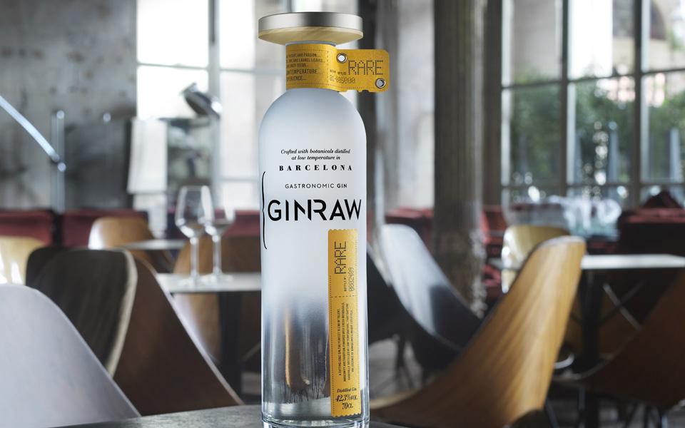 GINRAW, la ginebra gastronomica local