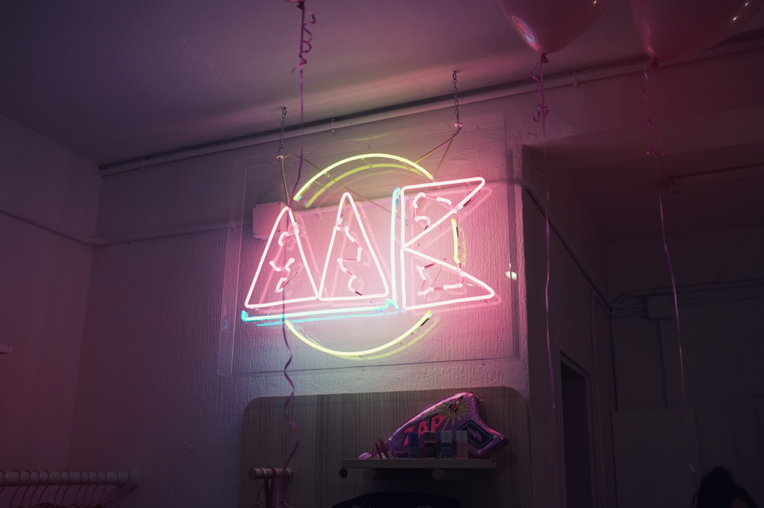 Miss kleckley Store: explosión de luz y de color