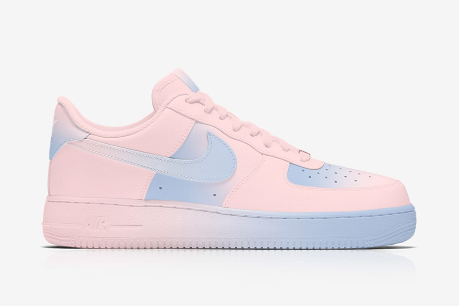 Las Air Force 1 de Nike se suman pantone del 2016