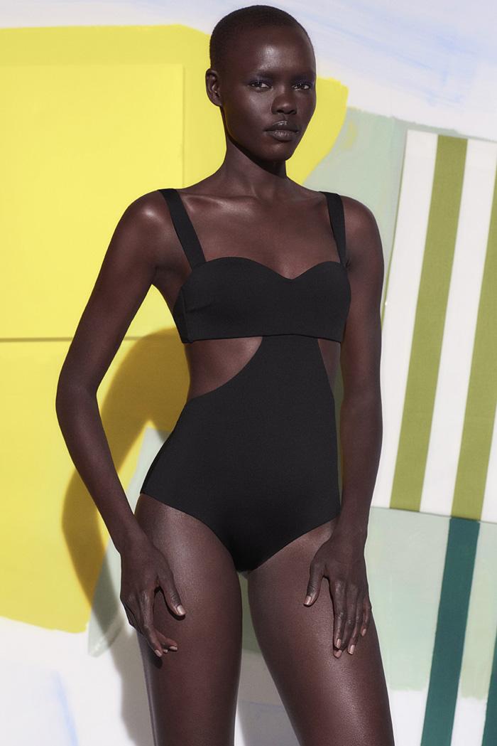 Oysho swimwear colaboracion artista Miren Doiz (10)