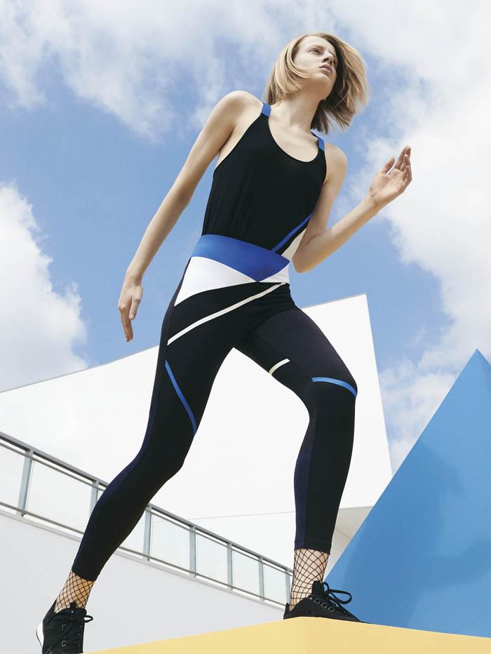 Lookbook Oysho gymwear Olympic collection SS16  (1)
