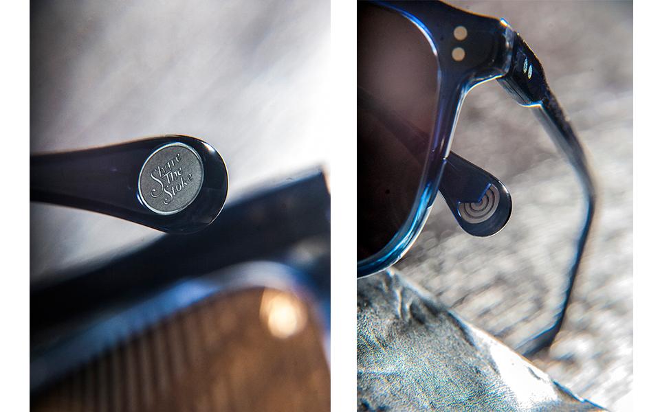 gafas azul