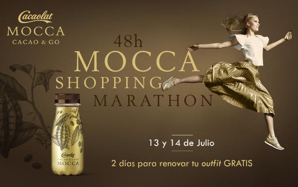 Maratón de shopping online con Cacaolat Mocca