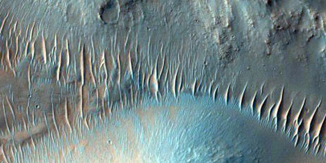 Descubrimos la sublimidad de Marte