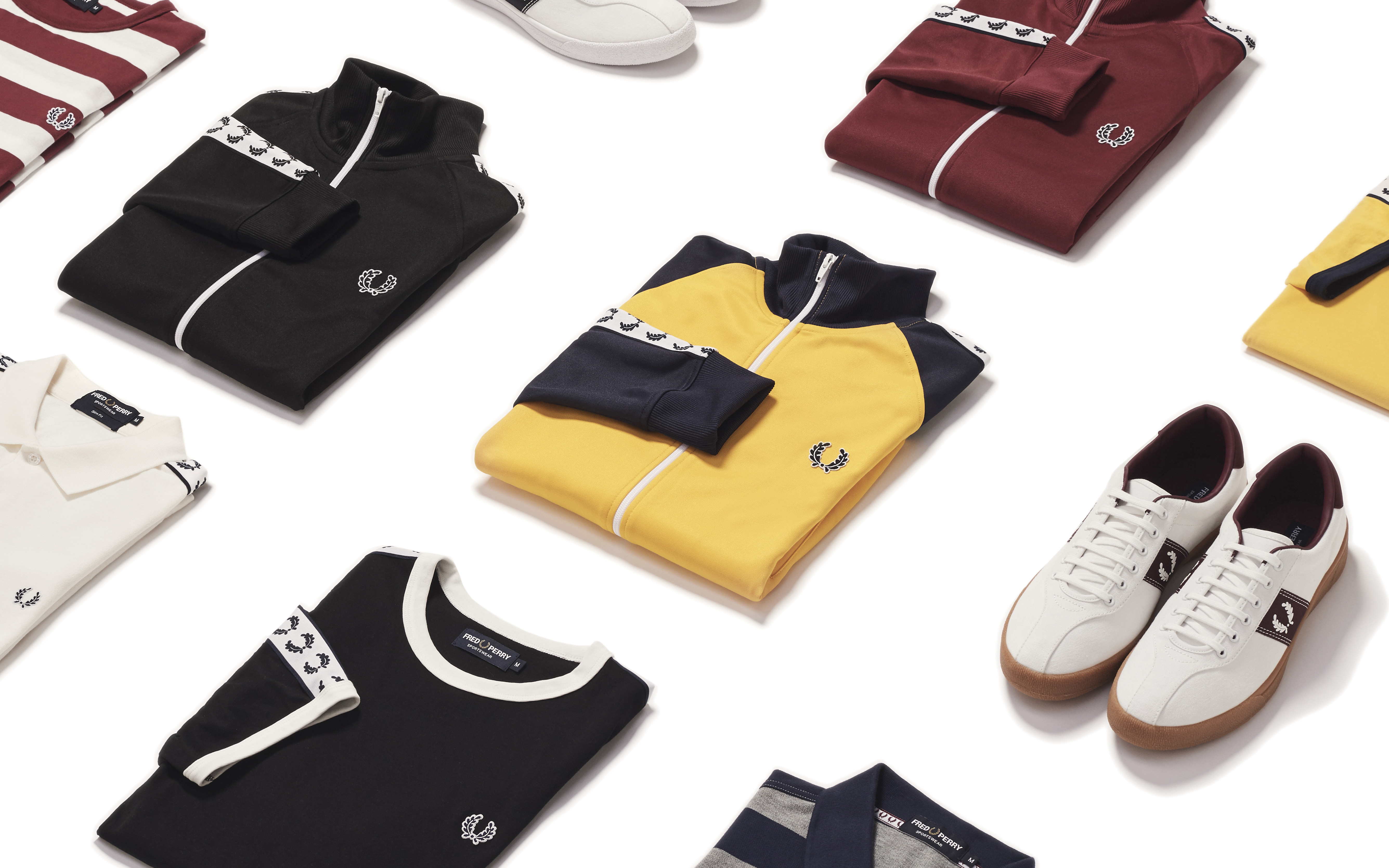 Vuelven los '70 a Fred Perry con 'Sports Authentic'