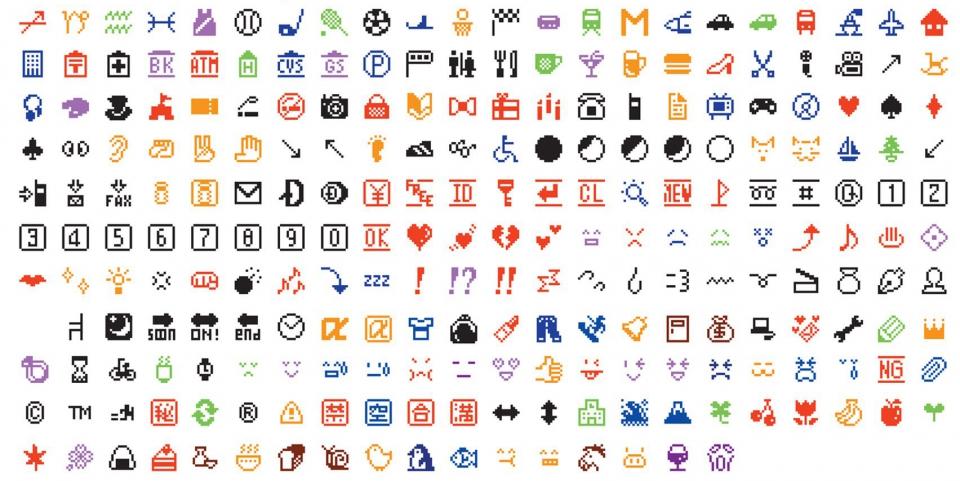 Los primeros emojis de la historia, en el MoMA