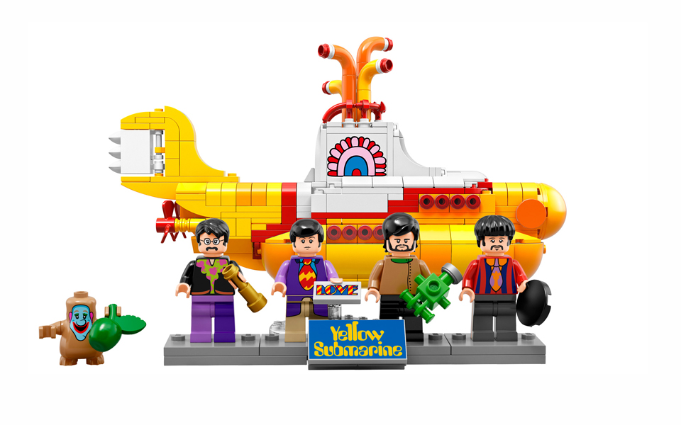 We all live in a LEGO Submarine…