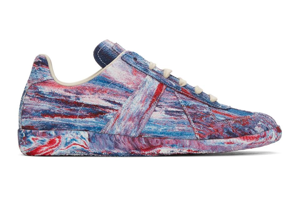 ¡Marchando unas Tie-Dye Replica Sneakers Maison Margiela!