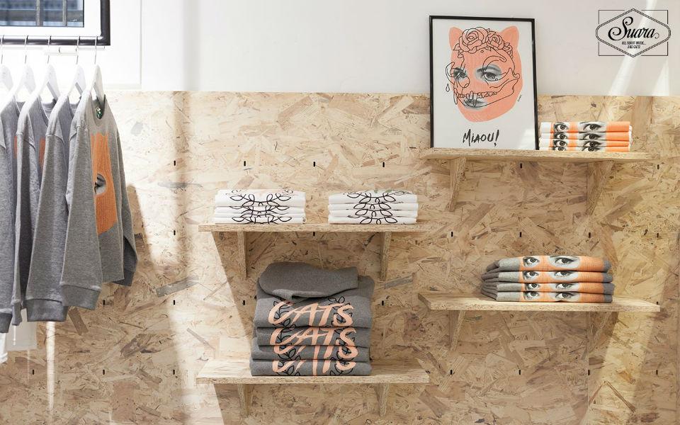 Suara Store & Foundation: techno, gatos y moda