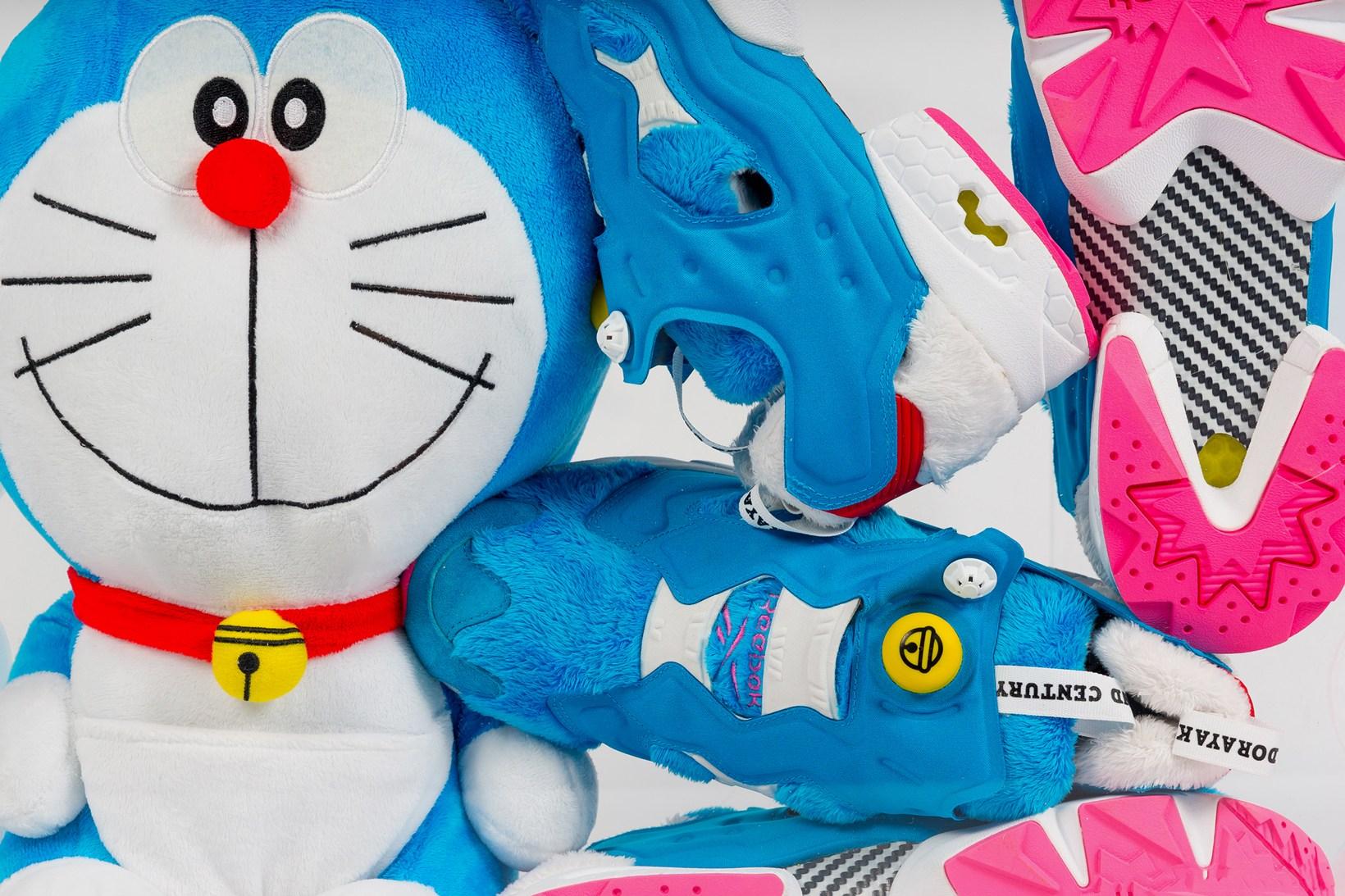 Reebok y atmos rinden homenaje a Doraemon