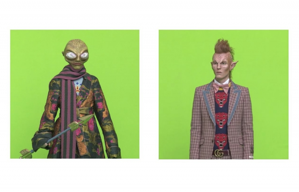 Gucci, moda de otra galaxia