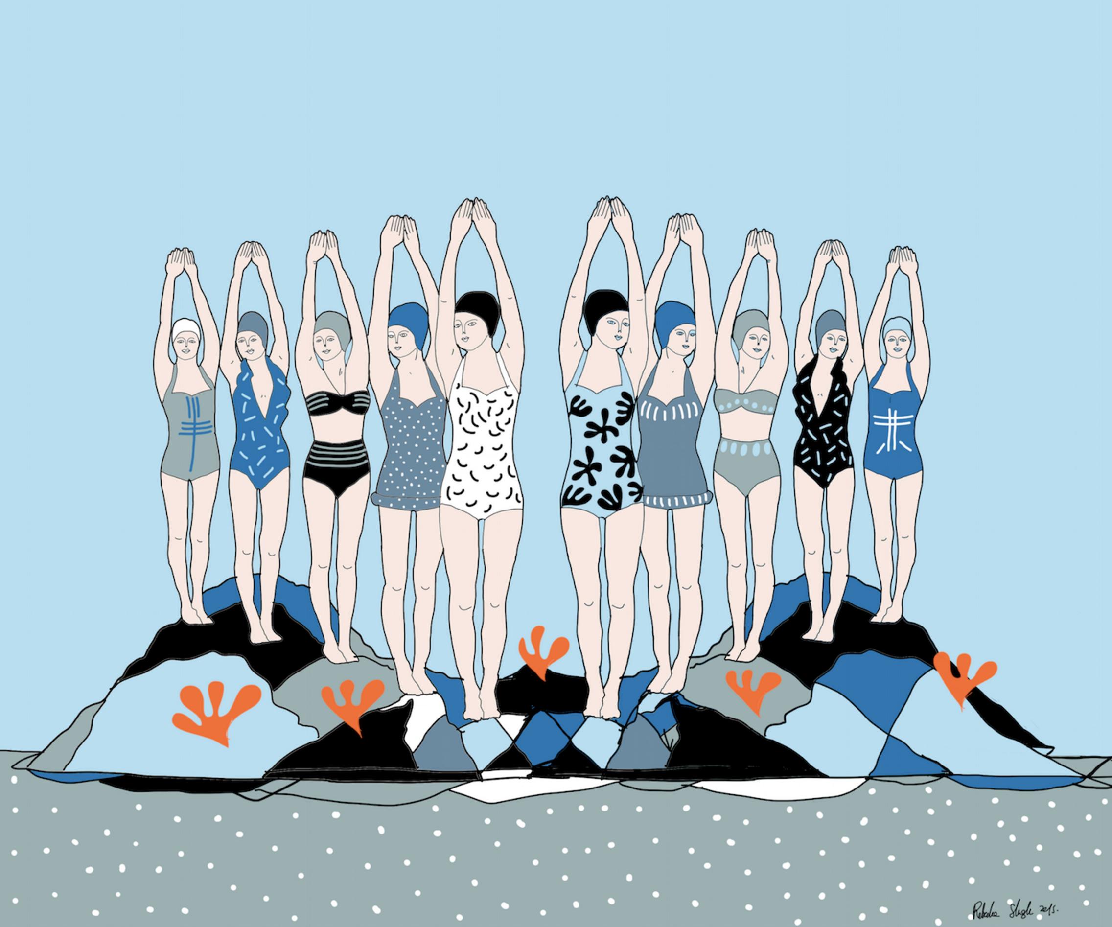 Rebecka Skogh y la ilustración de su mundo