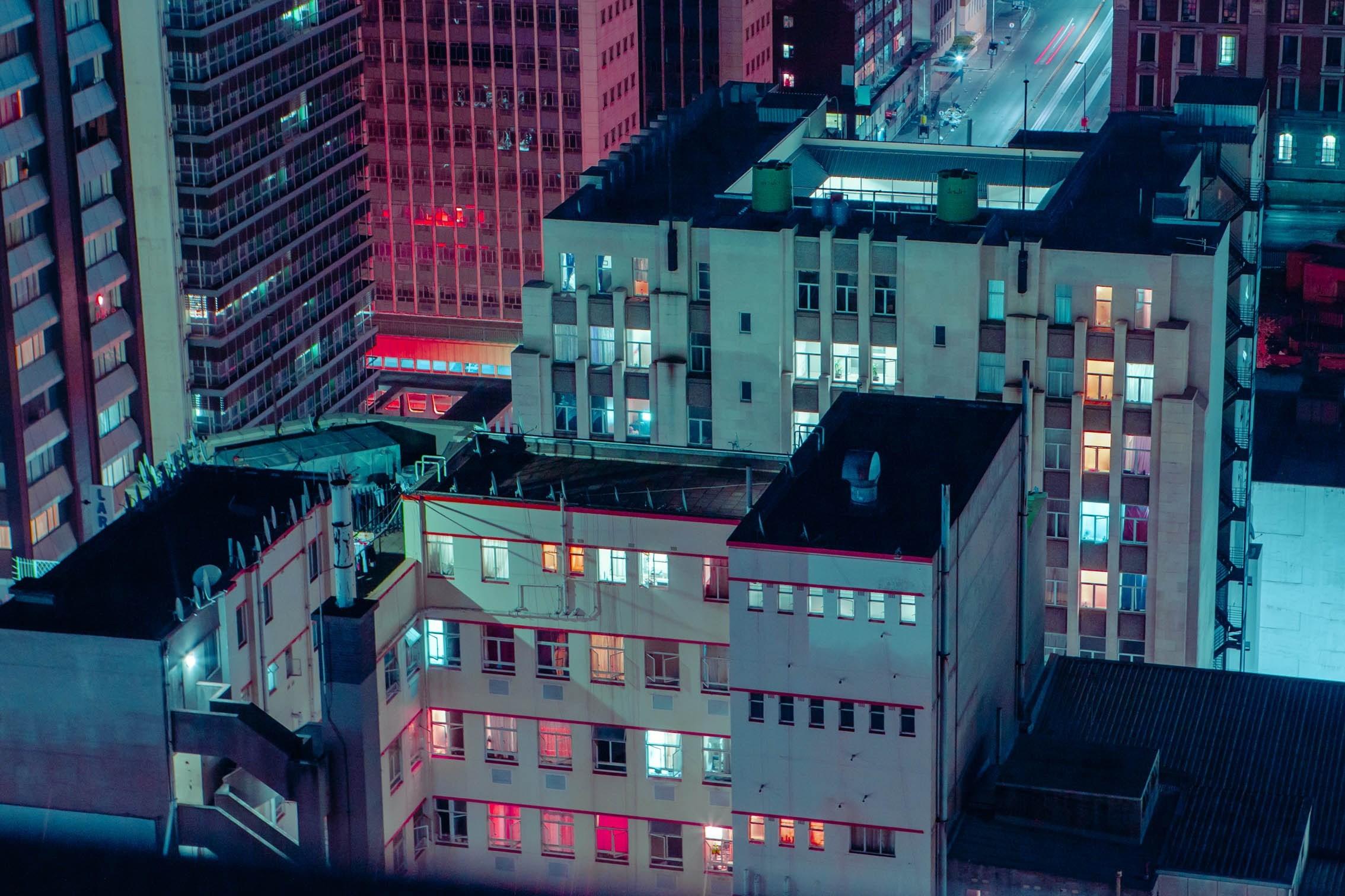 Elsa Bleda y el Johannesburgo nocturno