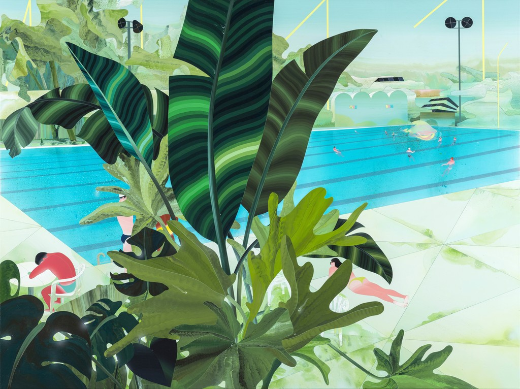 Fan Yang-Tsung y sus 'poolscapes'