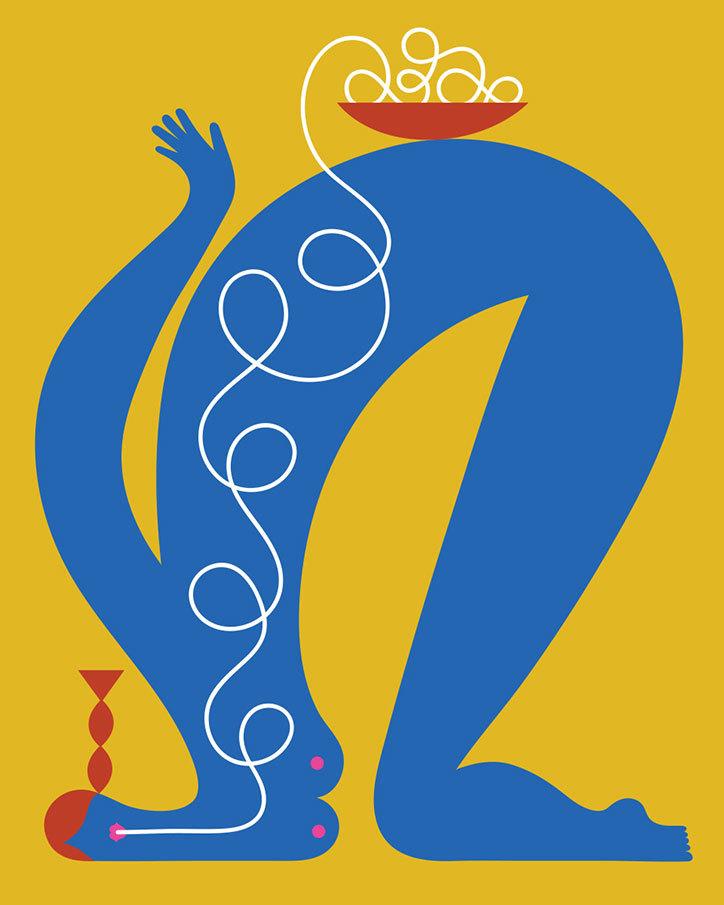 olimpia-zagnoli_-how-to-eat-spaghetti-like-a-lady_-2017_itsnicethat4